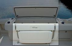 Boat Bench Seat with Storage | Seating - port lounge seat w/enclosed storage below
