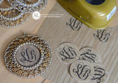 Monogram Holiday Ornaments
