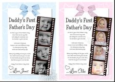 poem for first father's day | ... Productions | Personalised Photo Poems Gifts, Placemats and Keepsakes