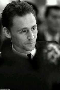 What a day! and then I see...Tom Hiddleston All better. How does he do that?