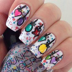 christmas by b_jessica_3 #nail #nails #nailart