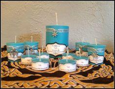 Yule Sabbat 100% Soy Scented Candles ~ Choose from 1 Pillar ~ 2 or 4 Votives ~ 6 Tea Lights ~ Yule ~ Winter ~ Sabbat ~ Soy Wax by SummerlandBB