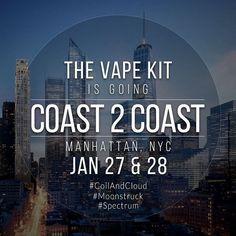 Where's our east coast familia at? #thevapekit will be in town! Tag a shop for us to roll thru! #coasttocoast #eastcoastvapers #thevapekit #coilandcloud #inresistancewetrust #irwt #coil #cloud #buildanywhere #vapeandboobs #vapeporn #calivapers #vapecommunity #vapeclouds #vapingisthefuture #vape #vapelyfe #vapelife #vapepic #vapehooligans #socalvapers #ktownvapers #213vapers #vapeislife