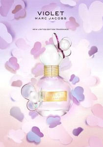 Marc Jacobs Violet ~ Marc Jacobs presents Violet, a new fragrance that belongs to the same line as Dot from 2012 and Honey from 2013. The fragrance comes out in May 2015 as a limited edition, exclusive to travel retail.
