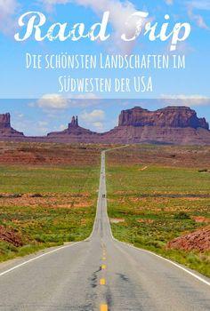 Auf einem Road Trip durch den Südwesten der USA wirst du von einer Landschaft nach der anderen geflasht. Der berühmte Horshoe Bend, der Antelope Canyon und auch der Zion Nationalpark liegen auf dieser Strecke.