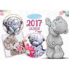 2017 Me to You Bear A4 Week to View Family Organiser £7.99