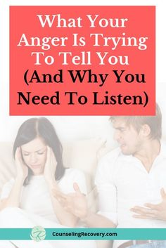 What Anger Is Trying to Tell You — Counseling Recovery, Michelle Farris, LMFT Bad Relationship, Relationship Problems, Relationship Challenge, Anger Management For Adults, Management Tips, Anger Quotes, How To Handle Stress, Conflict Resolution, Self Help