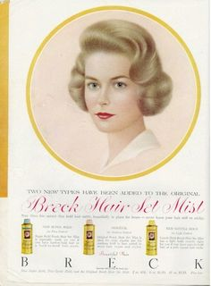 Image detail for -Breck Shampoo Advertising by Fatma Vintage Love, Vintage Beauty, Vintage Stuff, Vintage Advertisements, Vintage Ads, Shampoo Advertising, Breck Shampoo, World Problems, Retro Hairstyles