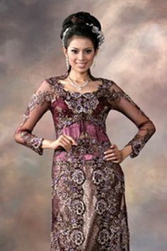 1000 Ideas About Kebaya Modern Dress On Pinterest