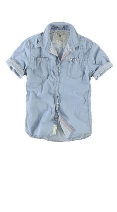 Overhemd Garcia E31031 IVAN MEN 743 Vintage bleach