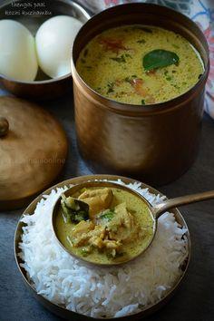 Thengai Paal Kozhi Kuzhambu Chicken curry in coconut milk Veg Recipes, Curry Recipes, Indian Food Recipes, Vegetarian Recipes, Cooking Recipes, Coconut Recipes Indian, Turkish Recipes, Easy Recipes, Recipes
