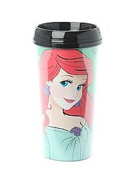 HOTTOPIC.COM - Disney The Little Mermaid Ariel Travel Mug