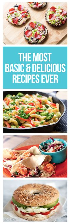 You don't have to be a pro in the kitchen to master these amazing healthy recipes.