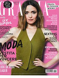Roads World - Danielle Ryan with Roads Fragrances in Grazia Italy