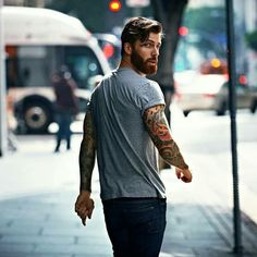 Visit www.beardsaresexy.com to have your photo posted. (link in bio)   To combine your sexy beard with a killer hairstyle, check out @sexyhairstylemen   Model: @levistocke Lens: @dmitrybocharov
