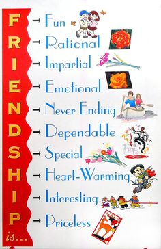 Friendship - Inspirational Posters (Reprint on Paper - Unframed)
