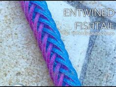 ENTWINED FISHTAIL Hook Only bracelet tutorial - YouTube
