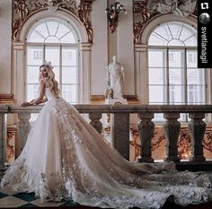 21 Princess Ball Gown Wedding Dresses Fit For A Fairytale Wedding These princess ball gown wedding dresses to get you inspired for truly magical bridal beauty & heart-stoppingly beautiful take on the style. Princess Ball Gowns, Princess Wedding Dresses, Dream Wedding Dresses, Bridal Dresses, Wedding Gowns, Eve Of Milady Wedding Dresses, Wedding Bride, Fairytale Dress, Princess Fairytale
