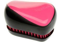 Tangle Teezer Compact Styler harja, Pink Sizzle (myös leopardikuvioinen käy - juuri tämä compact malli)