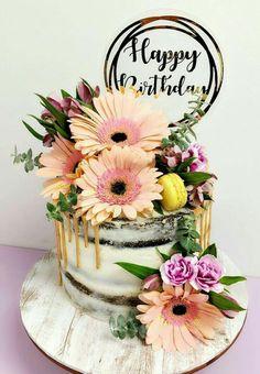Happy Birthday Cakes For Women, 22nd Birthday Cakes, Birthday Cake Write Name, Birthday Cake For Mom, Happy Birthday Wishes Images, Beautiful Birthday Cakes, Birthday Cake Toppers, Birthday Wishes Flowers, Birthday Wishes Greetings