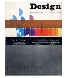June cover of Design magazine (1961).