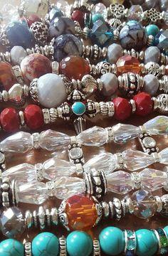 Bracelets cristal y agatas
