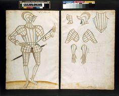 The Almain Armourer's Album; The Jacob Album; 'Sir Cristopher Hatton'   Jacob Halder   V&A Search the Collections