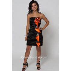 Love the hunter orange and camo! My mom just might let me wear this one!