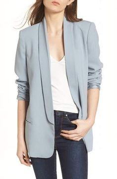 outfit with blazer Blazer Outfits Casual, Blazer Outfits For Women, Blazer Fashion, Blazers For Women, Classy Outfits, Coats For Women, Work Outfits, Dress Outfits, Formal Jackets For Women