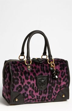 Juicy Couture 'Wild Things - Steffy' Satchel available at #Nordstrom Just bought this so cute:)