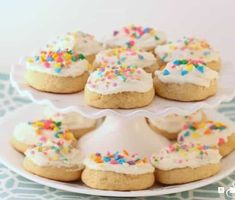 I recently found a recipe on the back of the sugar package that looked interesting. Yes, I look at the recipes on the back of the sugar package. Don't you?! Okay, don't answer that. At any rate, I made some changes and honestly, these are easily one of the best sugar cookies I've ever tasted! …