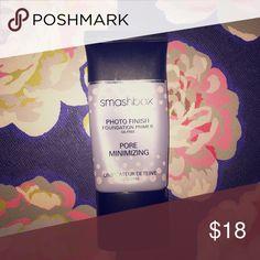 Smashbox Photo Finish Pore Minimizing Primer Smashbox Pore minimizing product. Over 50% of product left in tube. Smashbox Makeup Face Primer