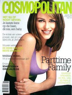 Elizabeth Hurley  -  Cosmopolitan January 1998