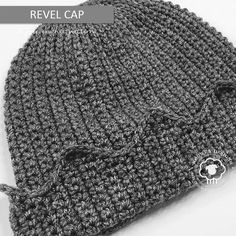 REVEL CAP - A FREE WHOOPEE HAT CROCHET PATTERN - Noowul Designs