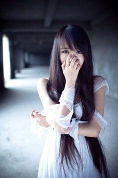 Long Asian hair