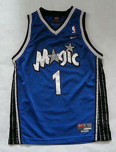 Tracy McGrady Orlando Magic Blue Nike Swingman Basketball Jersey Youth Large