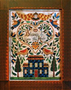 Susan Daul Folk Art - House Blessing