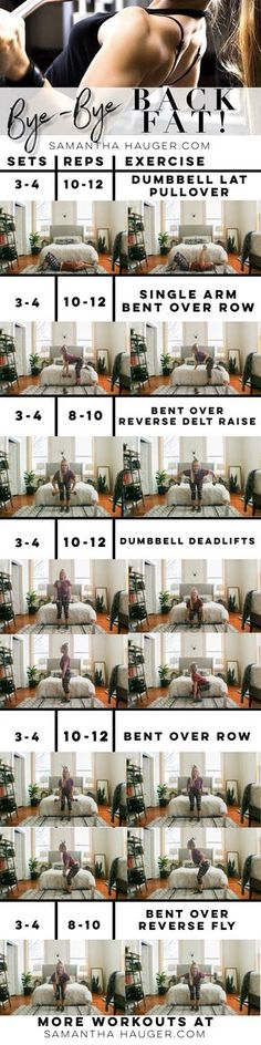How To Get Rid Of Back Fat. How To Lose Back Fat. Exercises for back fat. Back workout for women. Back exercises. How to lose back fat.