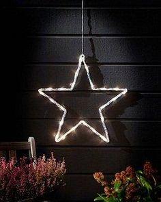 Deze Konstsmide LED Acryl ster koelwit kopen voor €28,90? Acrylsilhouet in de vorm van een ster met 24 LED-lampjes