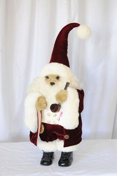 APPLE WHIMSEYS SANTA BABY COLLECTIBLE LIMITED EDITION OLD WORLD SANTA CLAUS