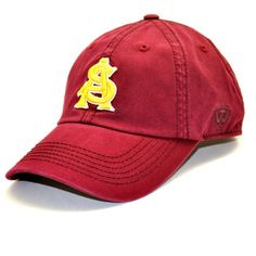 new product 786fc 393b1 Compare prices on Arizona State Sun Devils Adjustable Hats from top online  fan gear retailers. Save money on adjustable hats and caps.