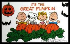 Snoopy Its The Great Pumpkin Charlie Brown Graphic plus many other high quality Graphics for your Facebook profile at CafeMoms.com.
