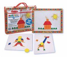 Melissa & Doug Magnetic Pattern Block Kit #MelissaDoug