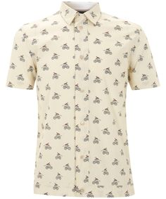 Bicycle Print Short Sleeve Shirt, Paul Smith Jeans. Shop the latest Paul Smith collection at Liberty.co.uk