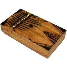 Large Kalimba Thumb Piano Handmade and Fair Trade