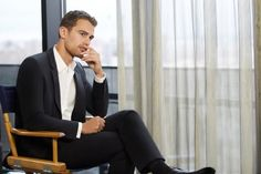 New Stills: Theo James for Hugo Boss The Scent