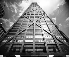 Ezra Stoller: John Hancock center, Chicago, Illinois, 1967