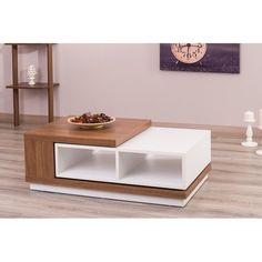 Purchase Online North Widcombe Extendable Coffee Table By Brayden Studio Centre Table Design, Tea Table Design, Centre Table Living Room, Table Decor Living Room, Tv Unit Furniture, Plywood Furniture, Table Furniture, Furniture Stores, Luxury Furniture