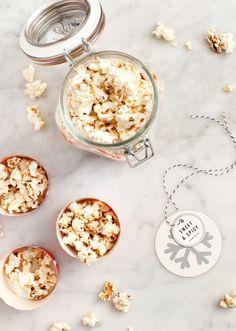 Sweet and Spicy Popcorn Gift Idea. Love & Lemons blog.