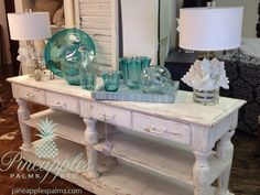 Console table available @ pineapplespalms.com